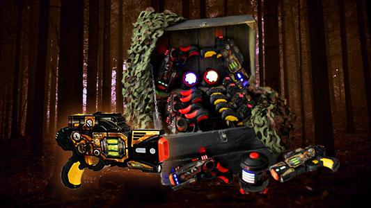 Laser Striker Lasergame set