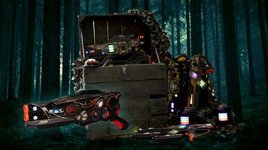 Assault Striker Lasergame set